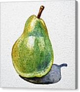 A Pear Canvas Print