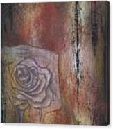 A Peek Of Beauty No. 1 Canvas Print