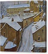 A Perfect Winter Night Canvas Print