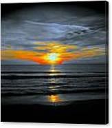 A Phoenix Firebird Sunset Canvas Print