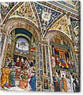 A Piece Of The Piccolomino Canvas Print
