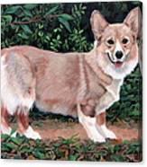 A Portrait Of Pickle Canvas Print