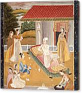 A Prince Smoking Canvas Print