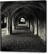 A Priory Vault. Canvas Print