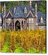 The Ledson Castle - Kenwood, California Canvas Print