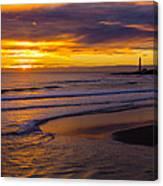 A Promising Morning? Canvas Print