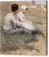 A Proposal In Picardy Canvas Print