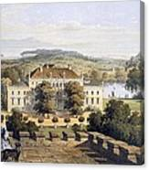 A Prussian Royal Residence, C.1852-63 Canvas Print