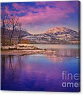 A Purple Surrender Canvas Print