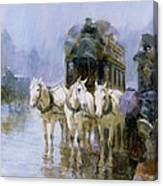 A Rainy Day In Paris Canvas Print