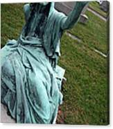 A Raised Hand -- Thomas Trueman Gaff Memorial -- 2 Canvas Print
