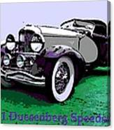 A Real Duesey Canvas Print