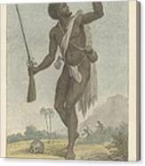 A Rebel Negro Canvas Print