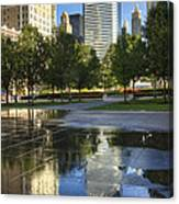 A Reflection Of Chicago Canvas Print