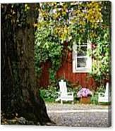 A Relaxing Finnish Afternoon Canvas Print