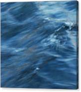 A River Flows Gently By Canvas Print