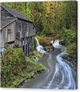 A River Flows Through It Canvas Print