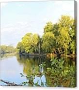 A River Runs Through It Canvas Print