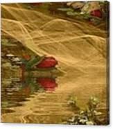 A Rose Bud Stream Canvas Print