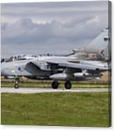 A Royal Air Force Tornado Gr4 Preparing Canvas Print