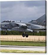 A Royal Air Force Tornado Gr4a Landing Canvas Print