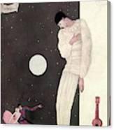 A Sad Reveler Canvas Print