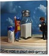 A Salt And Battery Canvas Print