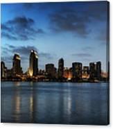 A San Diego Evening Canvas Print