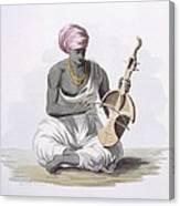 A Sarinda, Or Hindostan Type Violin Canvas Print
