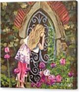 A Secret Garden Canvas Print