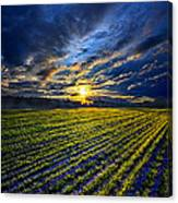 A Short Piece Of Time Canvas Print