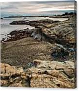 A Shot Of An Early Morning Aquidneck Island Newport Ri Canvas Print