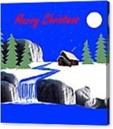 A Simple Christmas Canvas Print