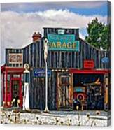 A Simpler Time Painted Version Canvas Print