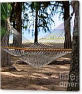 A Snooze By The Ocean Canvas Print