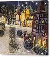 A Snowy Evening Canvas Print