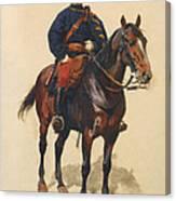 A Soldier Cavalerie Canvas Print