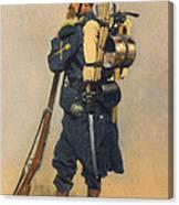 A Soldier IInfanterie Canvas Print