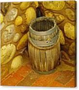 A Sole Barrel Canvas Print