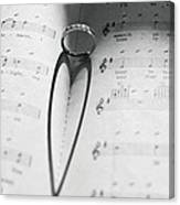 A Song In My Heart Canvas Print