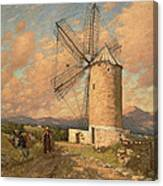 A Spanish Mill Canvas Print