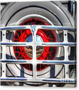 Spare Tire Canvas Print