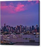 A Spectacular New York City Evening Canvas Print