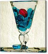 A Splash Of Color Canvas Print