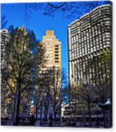 A Spring Day At Rittenhouse Square Canvas Print