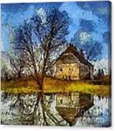 A Spring Flood Canvas Print
