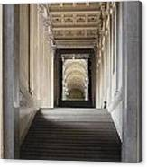 A Stair To The Beyond Canvas Print