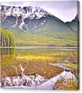 A Still Day At Buck Lake Canvas Print