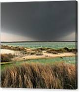 A Storm A Coming - Outer Banks I Canvas Print