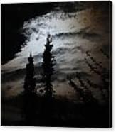 A Storm's Comin Canvas Print
